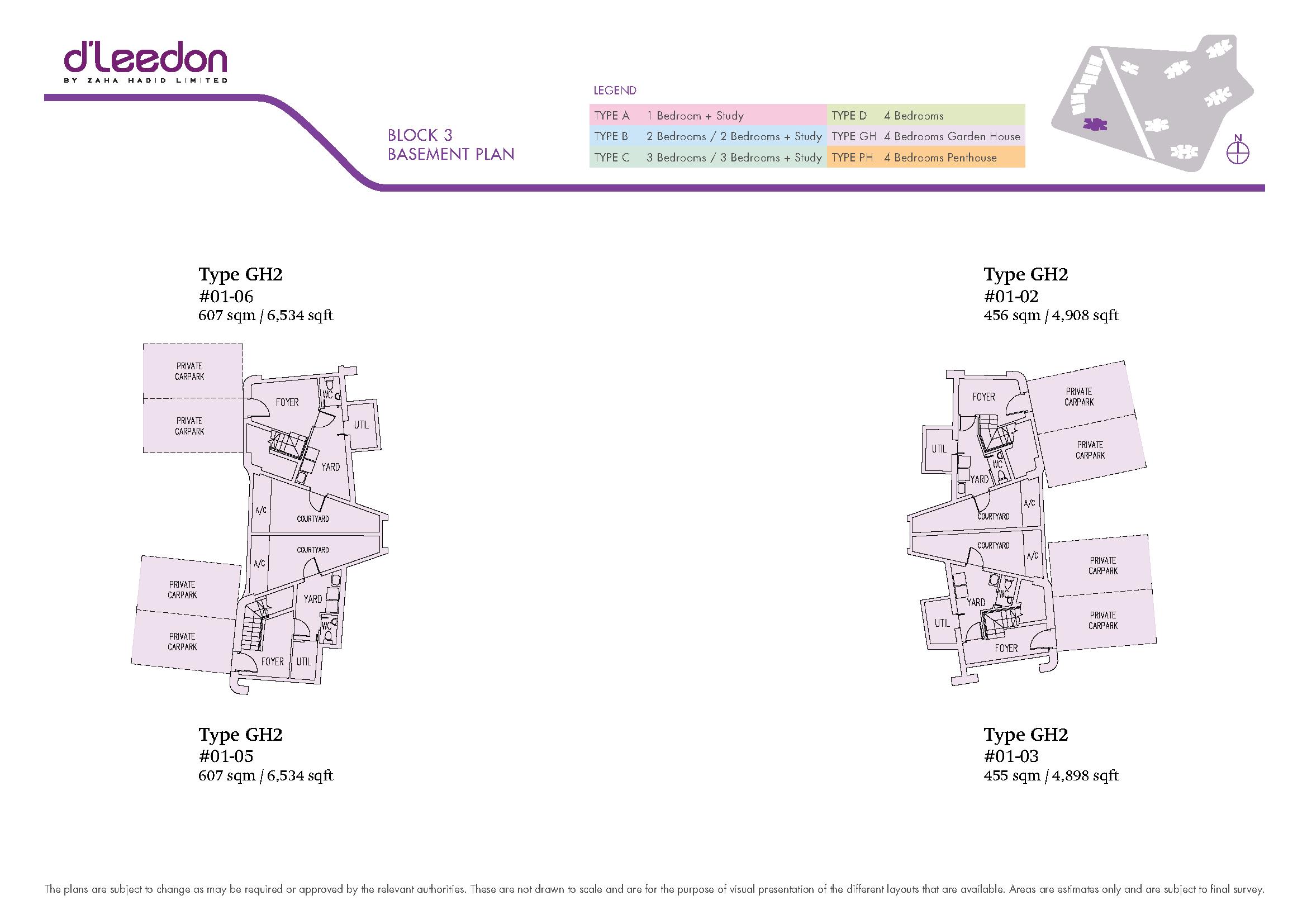 Garden villas at d leedon - Floor Plan